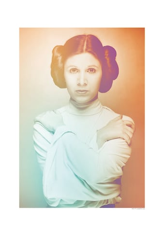 Komar Poster »Star Wars Classic Icons Color Leia«, Star Wars kaufen