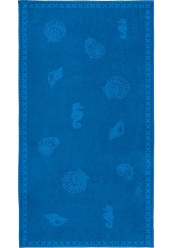 Seahorse Strandtuch »Shells«, (1 St.), mit Meeres Motiven kaufen