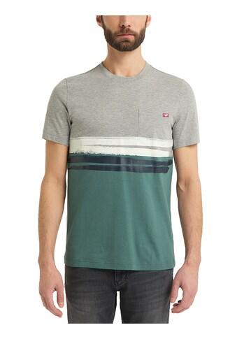 MUSTANG T-Shirt »Alex C Print«, kurzarm kaufen