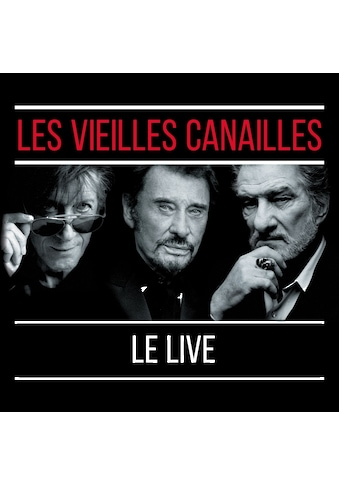 Musik-CD »Les Vieilles Canailles:Le Live / Dutronc,Jacques/Hallyday,Johnny &... kaufen