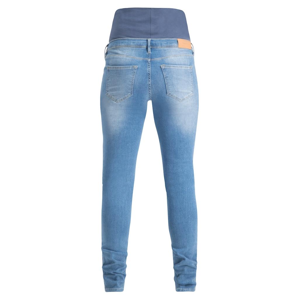 Noppies Skinny Umstandsjeans »Avi Aged Blue«