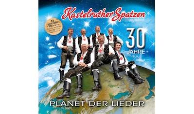 Musik-CD »Planet Der Lieder / Kastelruther Spatzen« kaufen