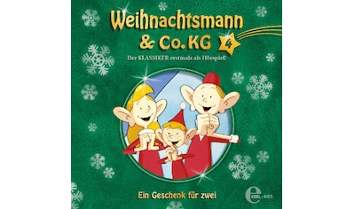 Musik-CD »(4)Original HSP z.TV-Serie-Ein Geschenk Für Zwei / Weihnachtsmann & Co.KG« kaufen