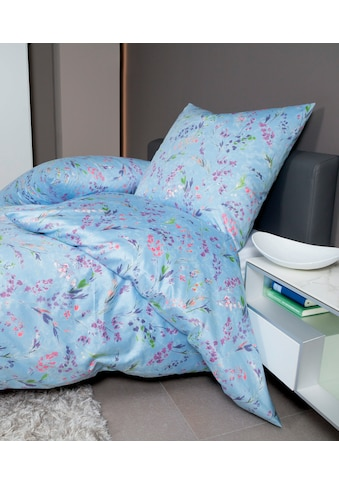 Janine Bettwäsche »moments 98057«, mit floralem Muster kaufen