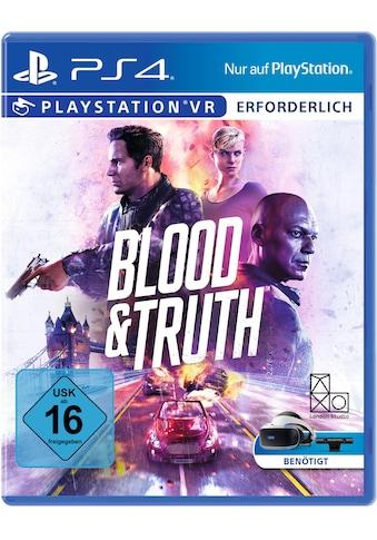 Blood & Truth VR PlayStation 4 kaufen