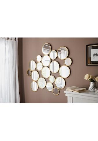 Leonique Dekospiegel »Malisa«, Wanddeko, bestehend aus 19 runden Spiegelementen kaufen