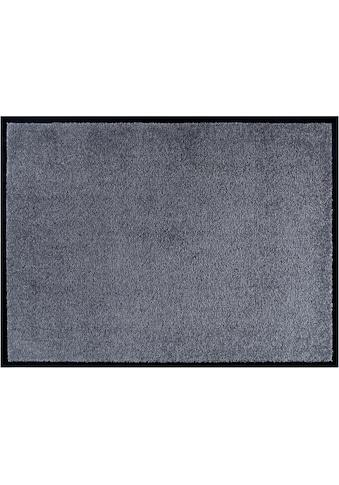 Home affaire Fußmatte »Triton«, rechteckig, 7 mm Höhe, Fussabstreifer, Fussabtreter, Schmutzfangläufer, Schmutzfangteppich, Schmutzmatte, Türmatte, Türvorleger, Schmutzfangmatte, In- und Outdoor geeignet, waschbar kaufen
