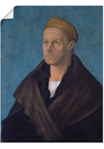 Artland Wandbild »Jakob Fugger, der Reiche. Um 1518«, Mann, (1 St.), in vielen Größen... kaufen