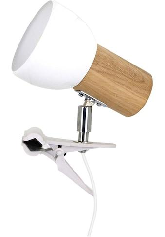 SPOT Light Klemmleuchte »SVENDA«, E27, Naturprodukt aus Massivholz, Nachhaltig mit... kaufen