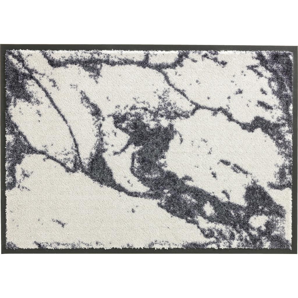 SCHÖNER WOHNEN-Kollektion Fußmatte »Miami 001«, rechteckig, 7 mm Höhe, Fussabstreifer, Fussabtreter, Schmutzfangläufer, Schmutzfangmatte, Schmutzfangteppich, Schmutzmatte, Türmatte, Türvorleger, waschbar