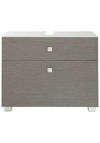 Schildmeyer Waschbeckenunterschrank »Bozen«, Breite 65 cm, mit 2 Schubladen & Metallgriffen kaufen