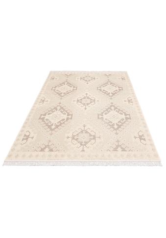 OTTO products Teppich »Gunnar«, rechteckig, 6 mm Höhe, weiche Haptik, Wohnzimmer kaufen