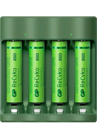 GP Batteries Akku-Ladestation »USB-Akkuladegerät B421 inkl. 4x ReCyko AAA Akkus je 850... kaufen