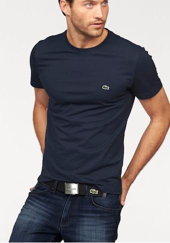 Lacoste T-Shirt, aus reiner Baumwolle kaufen