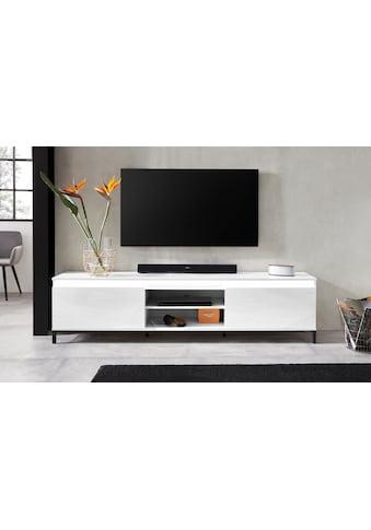 KITALY Lowboard »Genio«, Breite 200 cm, mit wendbare Blende kaufen