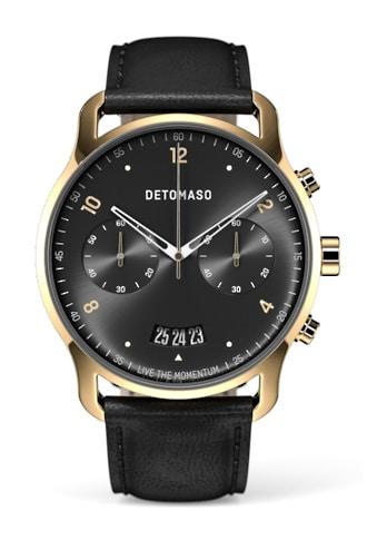 DETOMASO Chronograph »SORPASSO QUARZUHR GOLD BLACK« kaufen