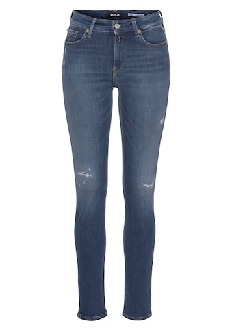 Replay Skinny-fit-Jeans »Luzien«, Destroyed-Power Stretch - Modal Denim - SUSTAINABLE... kaufen
