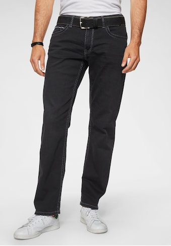 CAMP DAVID Loose-fit-Jeans »CO:NO:C622«, mit markanten Nähten kaufen