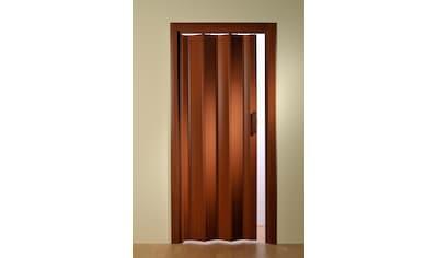 Falttür, Höhe nach Maß, Mahagoni ohne Fenster kaufen