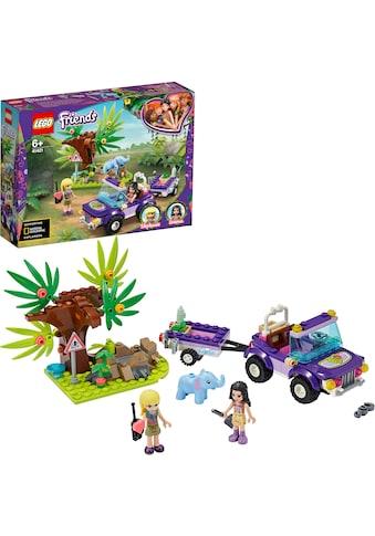 """LEGO® Konstruktionsspielsteine """"Rettung des Elefantenbabys mit Transporter (41421), LEGO® Friends"""", Kunststoff, (203 - tlg.) kaufen"""