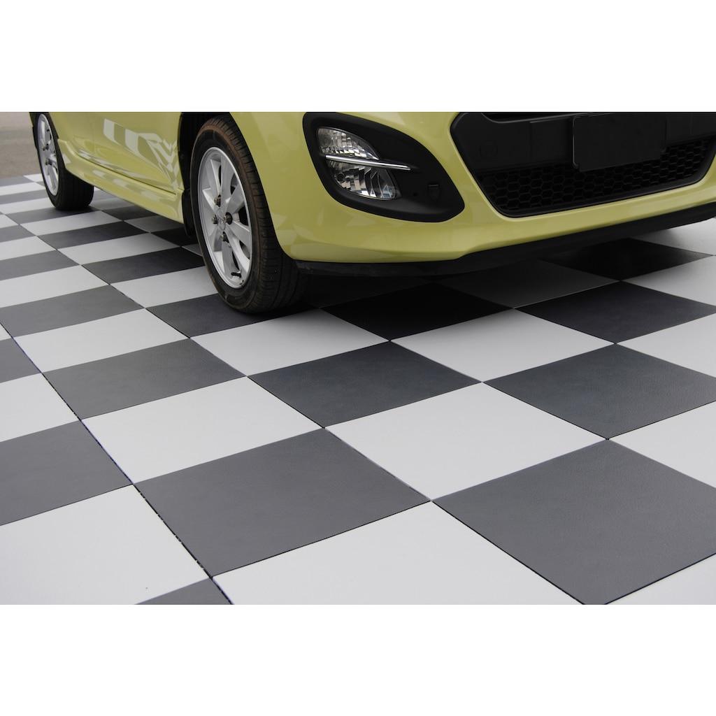 Bergo Flooring Terrassenplatten »Elite weiß«, Klickfliesen 2 m²