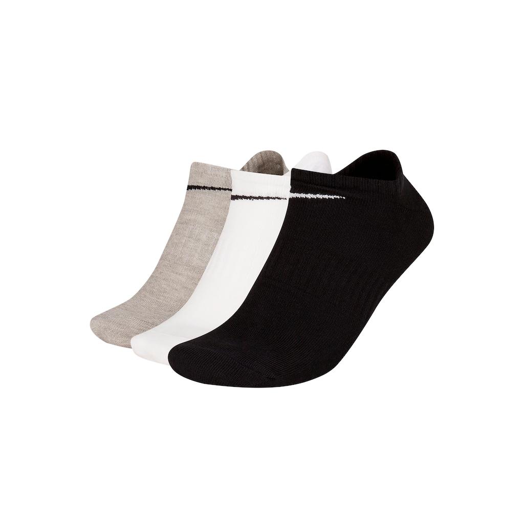 Nike Sneakersocken, (3 Paar), mit Mittelfußgummi