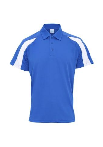 AWDIS Poloshirt »Just Cool Herren Kurzarm Polo Shirt mit Kontrast Panel« kaufen