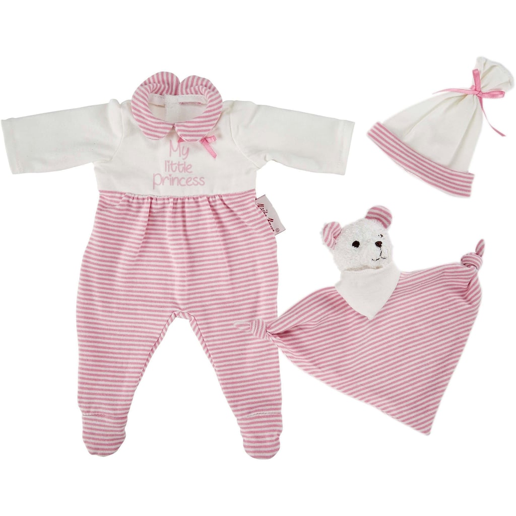 Käthe Kruse Puppenkleidung »Schlafanzug Set rosa«, (3 tlg.)