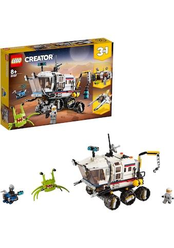 """LEGO® Konstruktionsspielsteine """"Planeten Erkundungs - Rover (31107), LEGO® Creator"""", Kunststoff, (510 - tlg.) kaufen"""