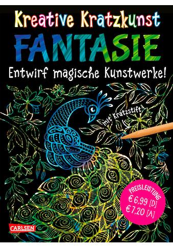 Buch »Kreative Kratzkunst: Fantasie: Set mit 10 Kratzbildern, Anleitungsbuch und... kaufen