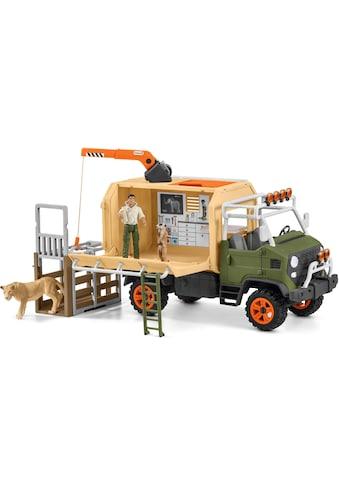 """Schleich® Spielwelt """"Wild Life, Großer Truck Tierrettung (42475)"""", (Set kaufen"""