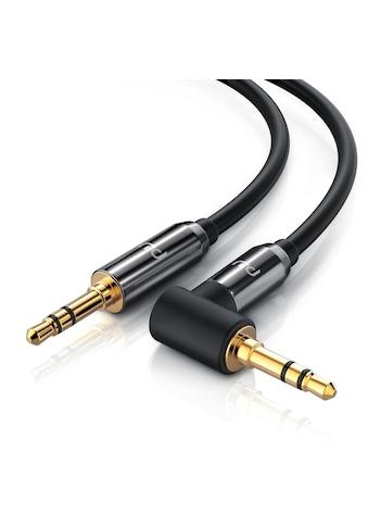 Primewire AUX Verbindungskabel 90° gewinkelt für Audiogeräte »3.5mm Stecker auf 3.5mm... kaufen
