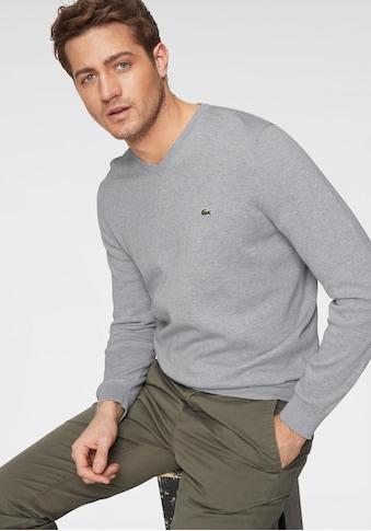 Lacoste V-Ausschnitt-Pullover kaufen