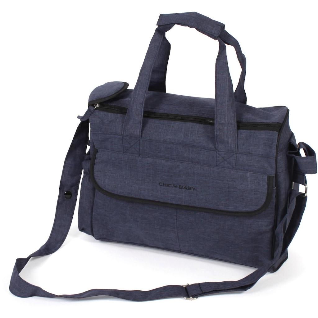 CHIC4BABY Wickeltasche »Komfort, jeans navy«
