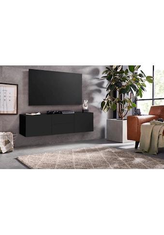 borchardt Möbel Lowboard »Sophia«, Breite 139 cm mit 2 Schubkästen, stehend und hängend kaufen
