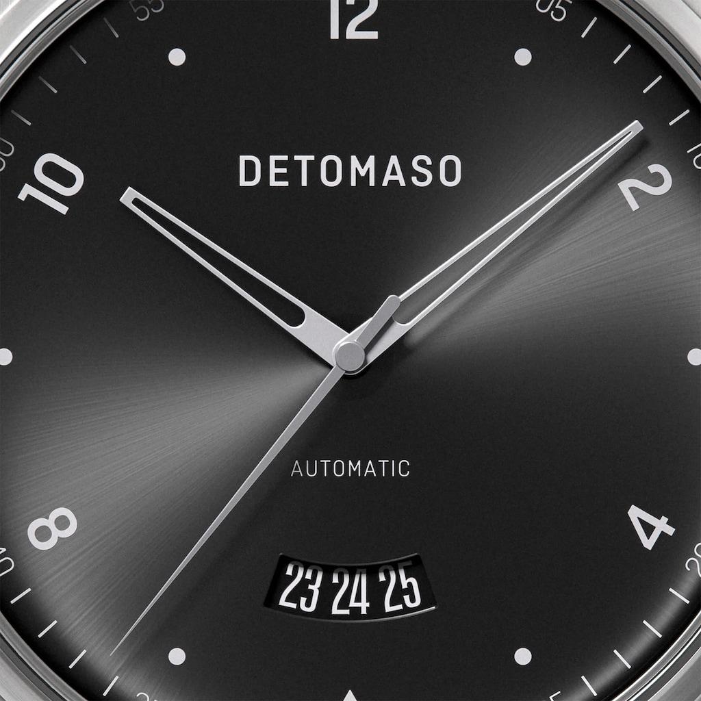 DETOMASO Automatikuhr »VIAGGIO AUTOMATIC SILVER BLACK«