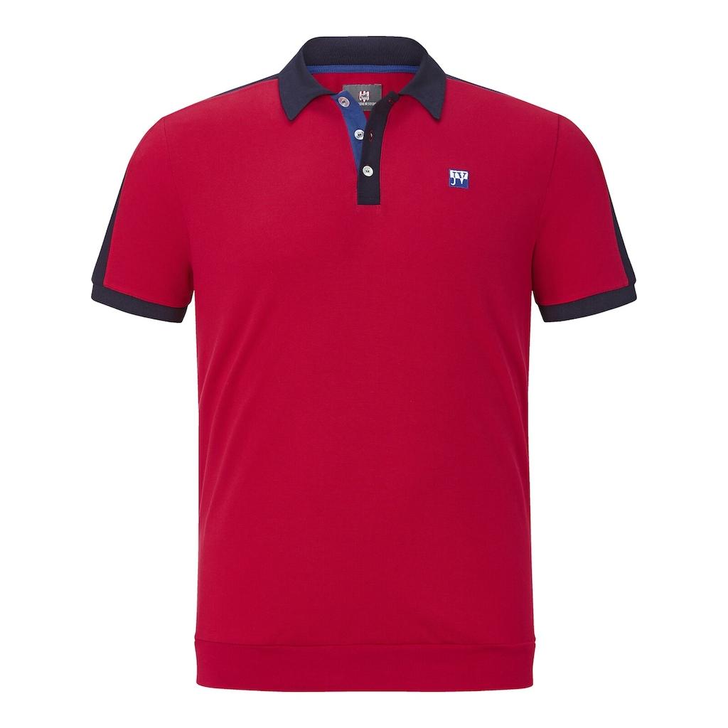 Jan Vanderstorm Poloshirt »ORLOV«, Komfortschnitt mit Bündchen