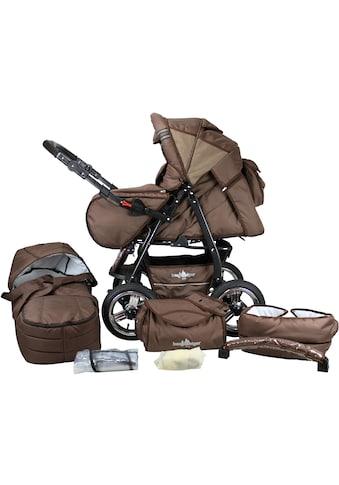 bergsteiger Kombi-Kinderwagen »Rio, chocolate, 3in1«, mit Lufträdern; Made in Europe;... kaufen