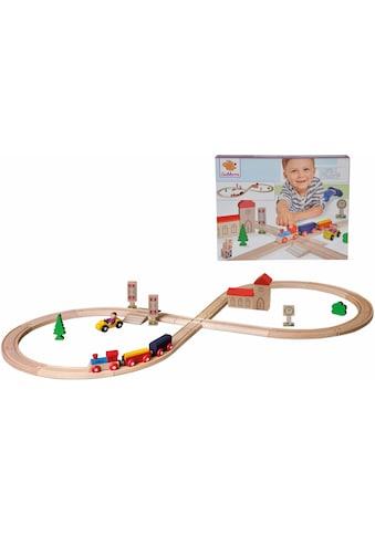 Eichhorn Spielzeug-Eisenbahn »Achterbahn, 35-tlg.«, aus Holz; Made in Europe,... kaufen