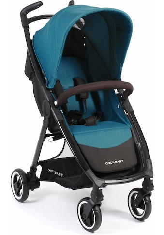 CHIC4BABY Sport-Kinderwagen »Robbie, petrol«, mit schwenk- und feststellbaren Vorderrädern kaufen