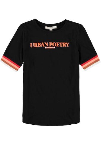 Garcia T-Shirt »Urban Poetry«, Ringel Bündchen kaufen