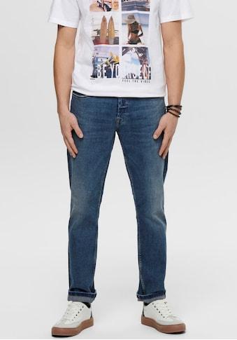 ONLY & SONS Regular-fit-Jeans »WEFT REG« kaufen