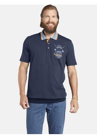 Jan Vanderstorm Poloshirt »ORVAR«, Saum mit Rippenbündchen kaufen