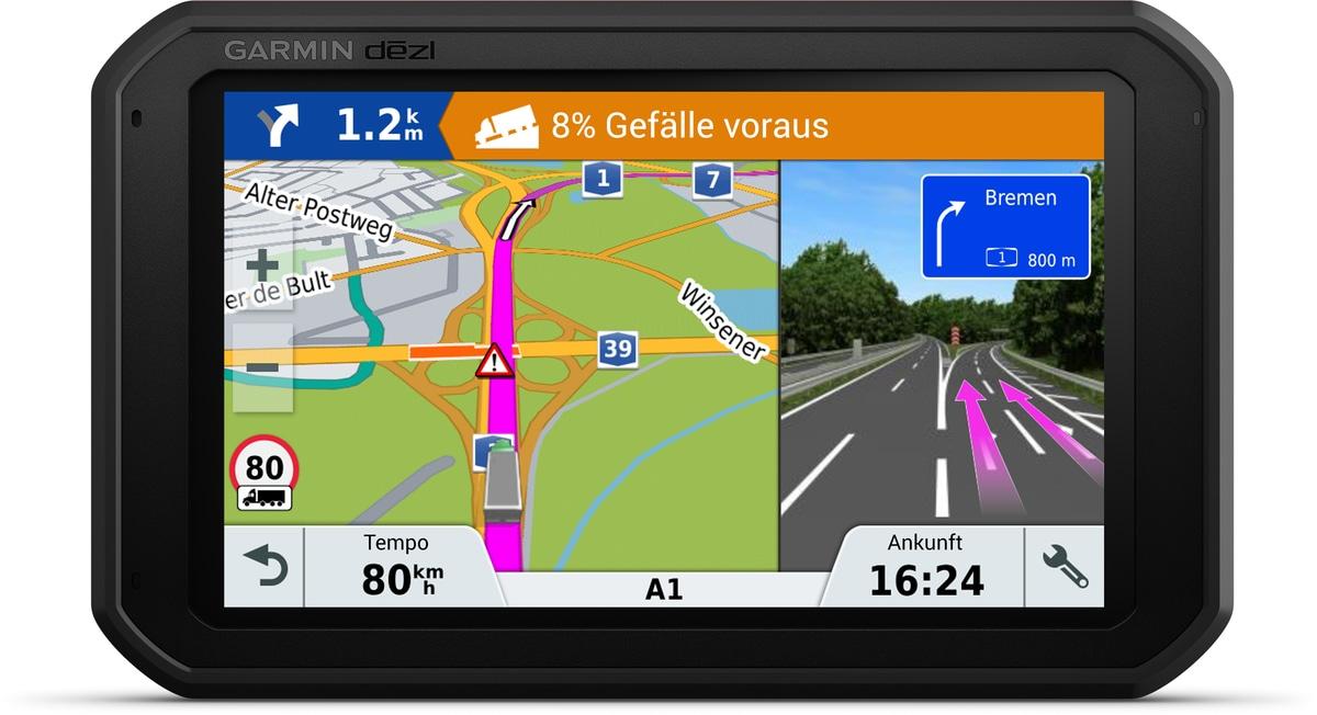 LKW-Navigationsgerät »dezl 780LMT-D - TRUCK«