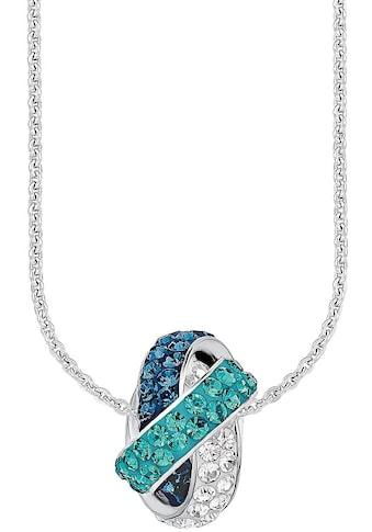 Amor Kette mit Anhänger »Knoten, 9194827«, mit Swarovski® Kristallen kaufen