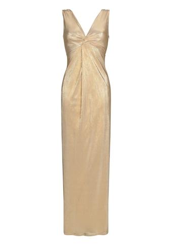Nicowa Elegantes Abendkleid ALISELA mit metalischer Optik kaufen