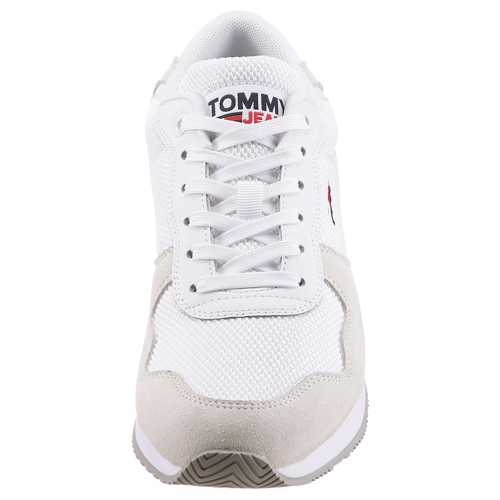 TOMMY JEANS Keilsneaker »TOMMY JEANS MONO SNEAKER«, im modischen Materialmix