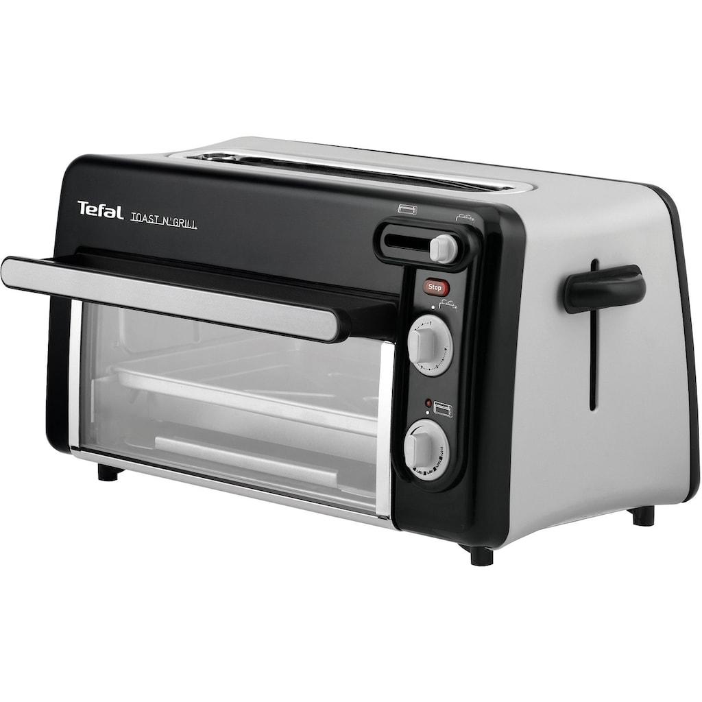 Tefal Minibackofen »Toast-Grill und Mini-Ofen TL6008«, 1300 W, kein Vorheizen notwendig