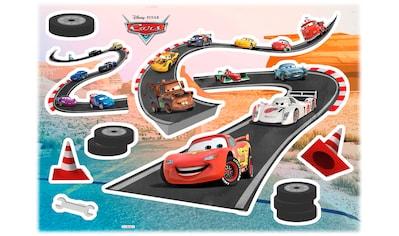 Komar Wandtattoo »Cars Track«, selbstklebend, rückstandslos abziehbar kaufen