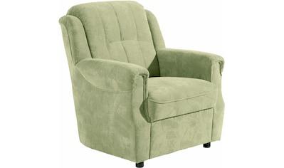 Max Winzer® Sessel »Manhattan«, im Reliefsamt kaufen
